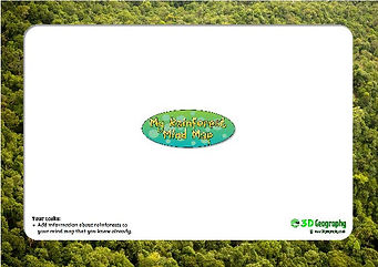 rainforest mindmap activity | rainforest mindmap worksheet