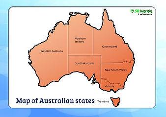 ausrtalia map download | australia map for kids | map of australia with states