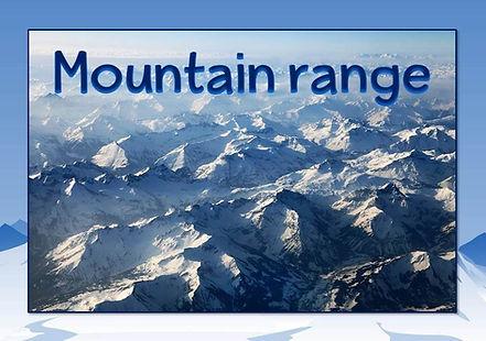 mountain vocabulary