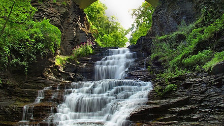 types of waterfall - cascade