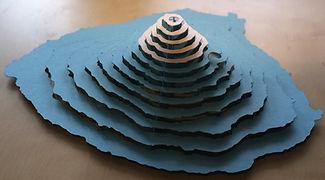 mount fuji model making