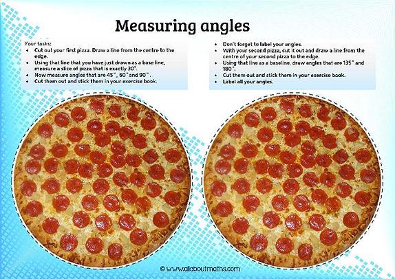 measuring angles worksheet
