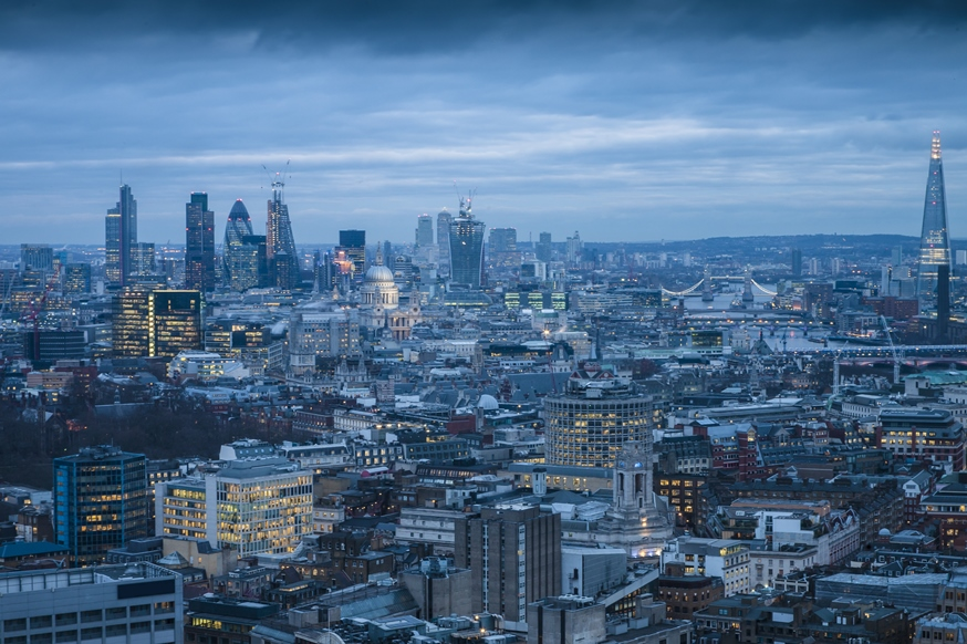 Crowded cities - London