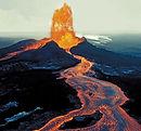 lava flow | molten lava | active volcano