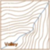 valley contour lines