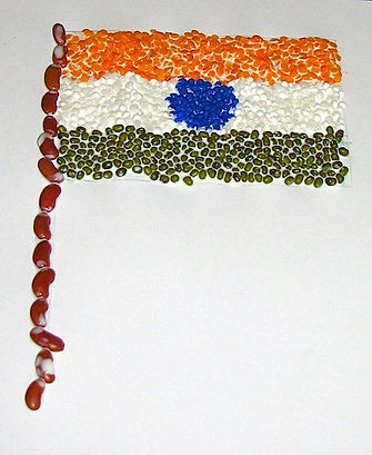 india flag craft idea