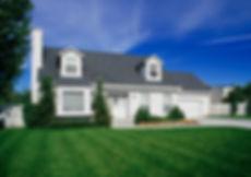 suburban american home