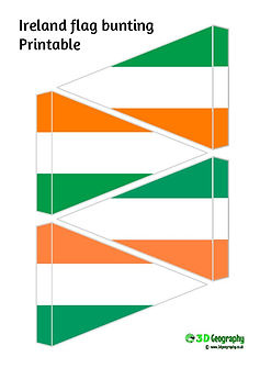 Ireland Flag Bunting Printable Flags Of The World Korea Dpr Diffe Countries