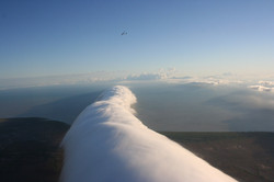 Clouds - Morning glory from above