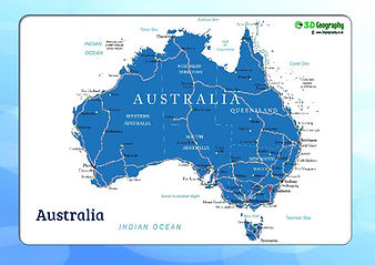 australia map | australia map for kids