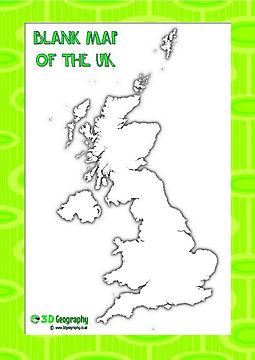 UK maps for kids