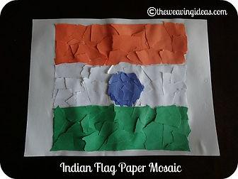 indian flag craft idea