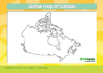 blank map of canada | canada map download | canada map for kids