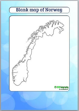 blank map of norway | outline map of norway | norway blank map | norway outline map | geography for kids