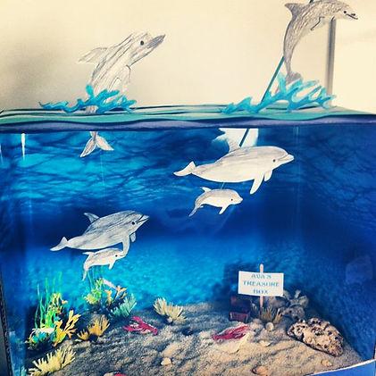 sea diorama ideas | underwater diorama