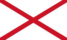 flag of northern ireland | red saltire of st patrick