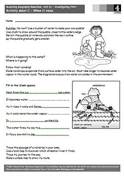 Geography worksheets | geography for kids worksheets | geography lessons