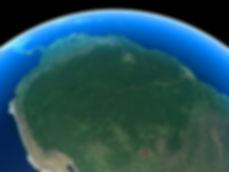 Amazon rainforest location
