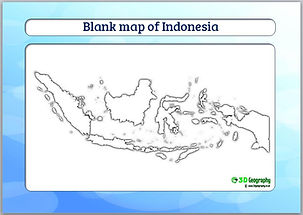 indonesia blank map | indonesia outline map | blank map of indonesia
