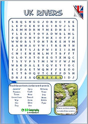 uk geography word search
