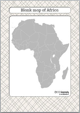 outline map africa | blank map africa | africa outline map