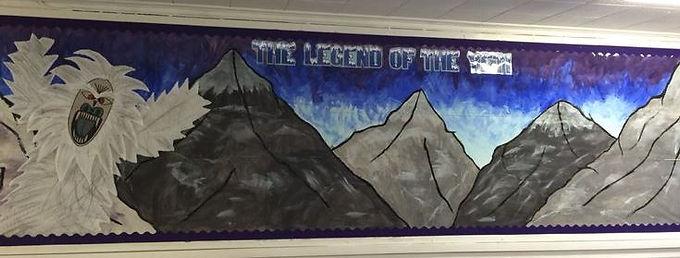 yeti classroom display