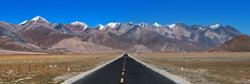 A road through Tibet