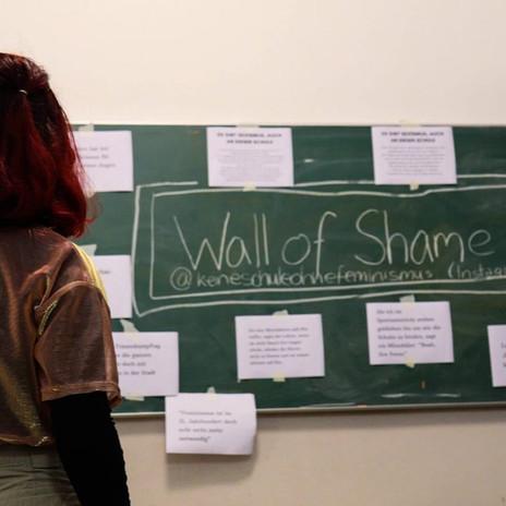 """Die """"Wall of shame"""""""