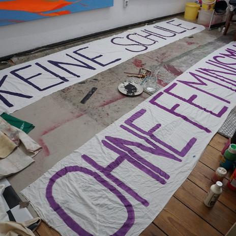 Die zwei großen Banner für den 28.01.21