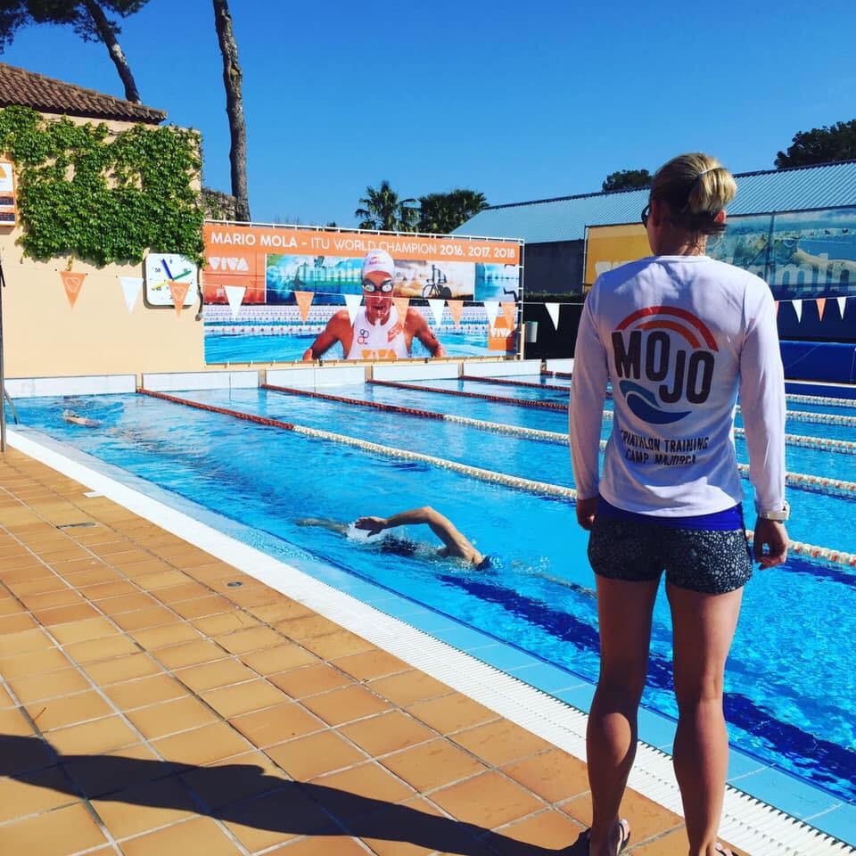 Swim coaching in the sun (hopefully!)
