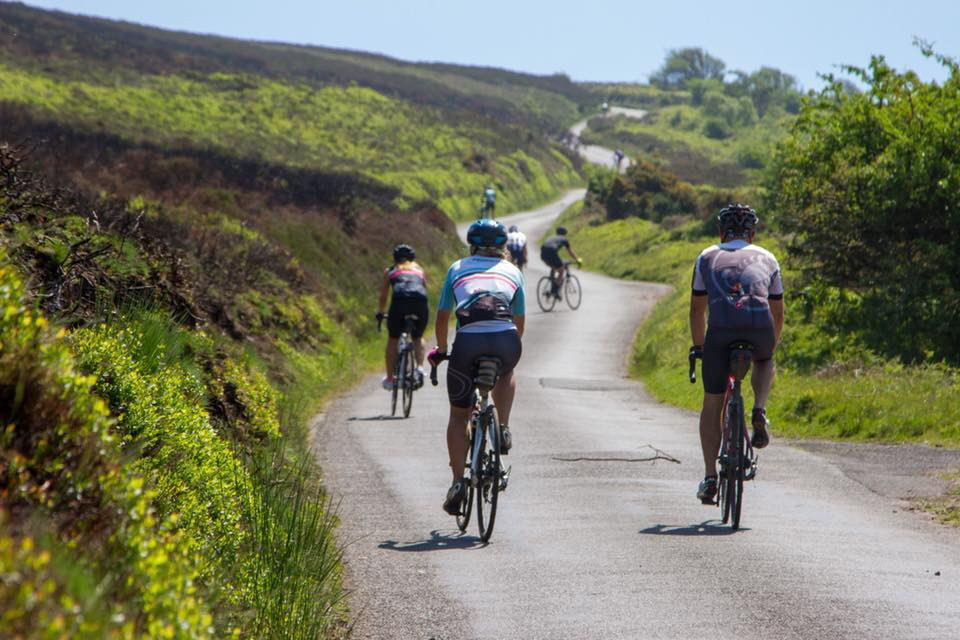 Cycling on Exmoor