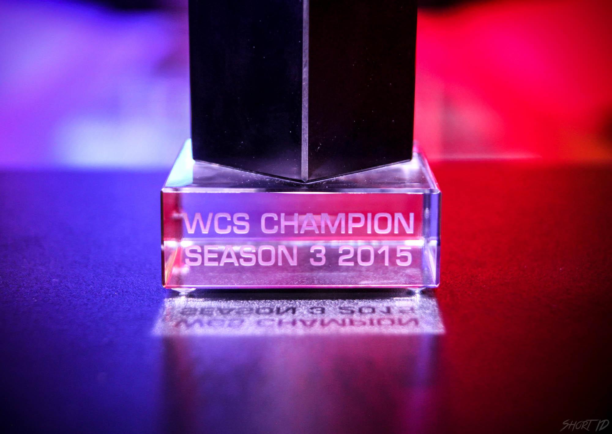 WCS Saison 3 - Trophee 3