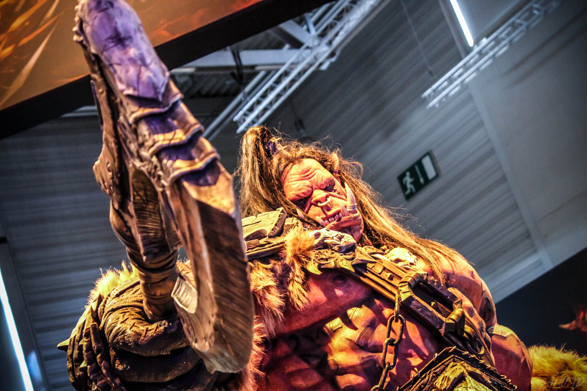 Gamescome 2015 - Statue Grommash
