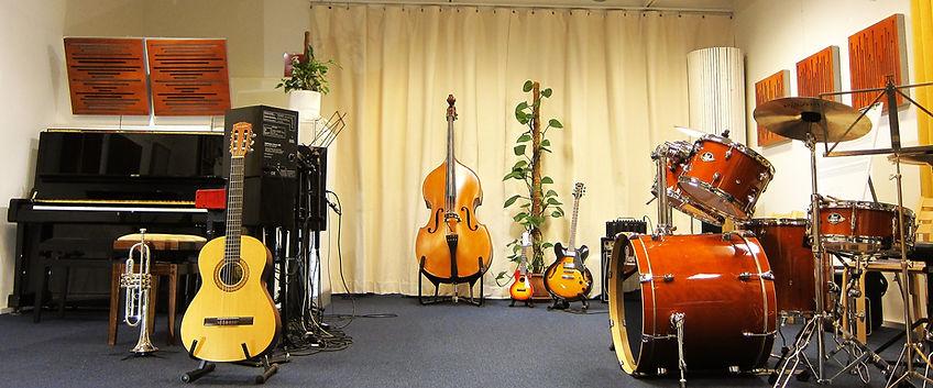 Ylöjärven Pianokoulu sisältä