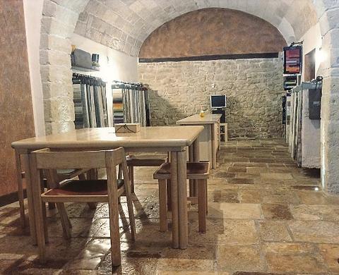 Showroom della GNOMAUS a Cassano delle Murge, Bari