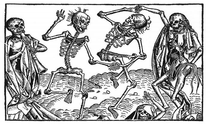 The Dancing plague of the 1500's. Dance till you die. But why? No one knows
