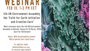 WEA Webinar on the 4th UN Environment Assembly