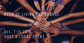 Global Week of Living the Change (7-14 October 2018)
