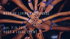Global Week of Living the Change (7-14 October 2018)