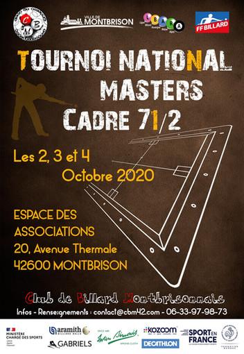 TOURNOI NATIONAL CADRE 71/2