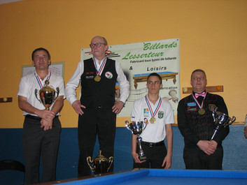 Michael Sabot champion de France N1