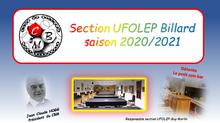 SITE DE LA SECTION UFOLEP : CBM section UFOLEP billard