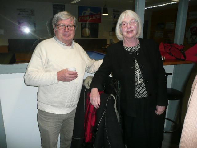 Philippe Dumas et son épouse