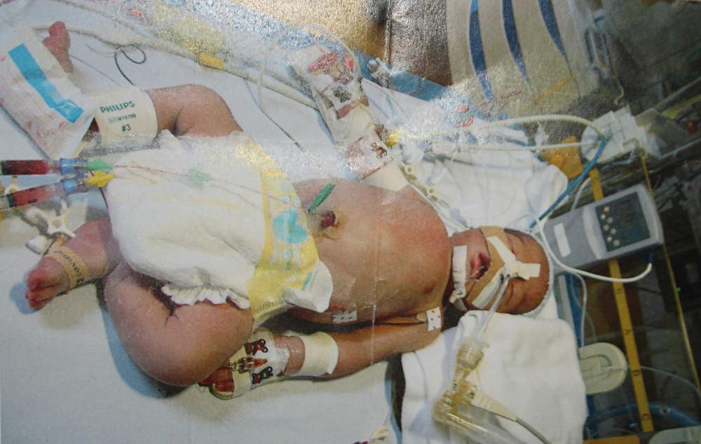 Diego in het ziekenhuis