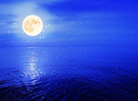 満月のエネルギーとバランスのとれた全倍音の波動