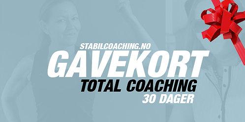 Gavekort - Total Coaching - 30 dager