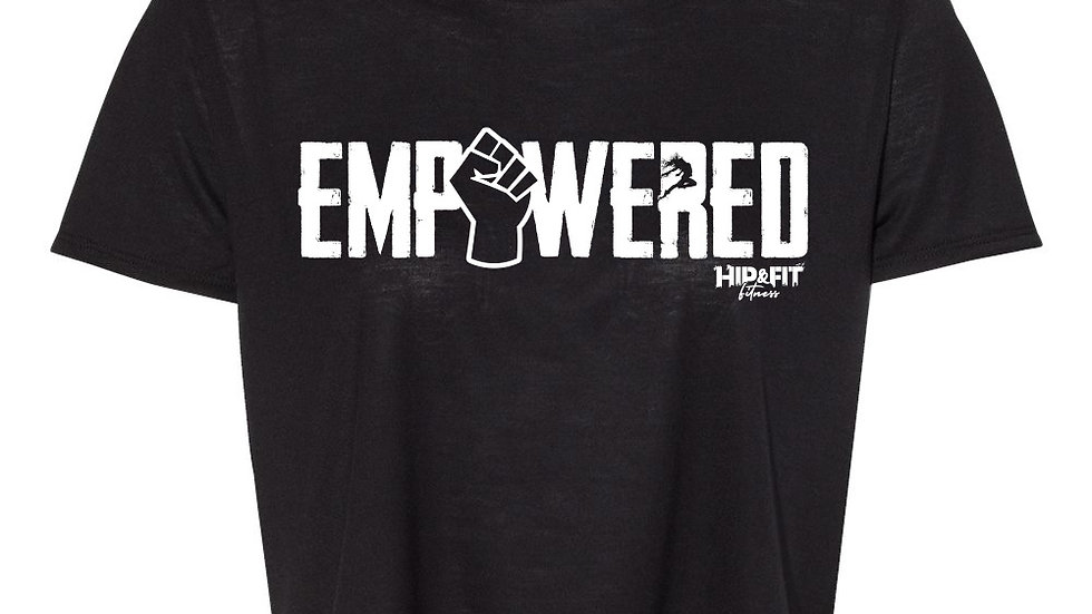 Empowered cropped t-shirt