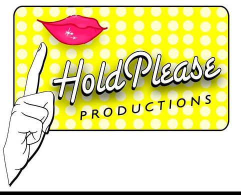 Logo forHold Please Productions.
