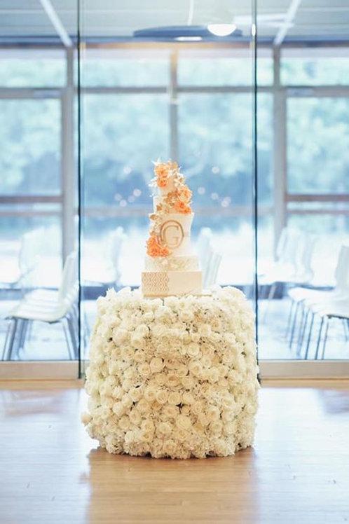FLORAL CAKE BASE