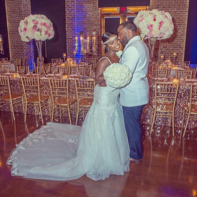 Charles Morris Center Wedding: Takeyah and Charles